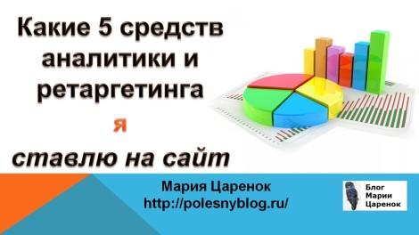 Веб-аналитика сайта. Пиксели ретаргетинга