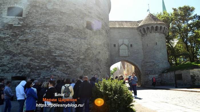 Ворота-вход в старый Таллинн