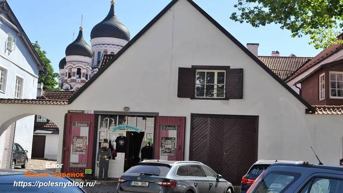 Колоритные местечки Старого Таллинна