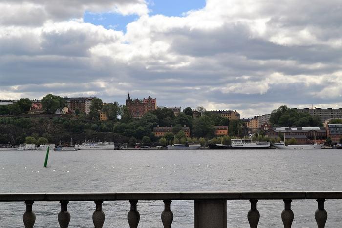 Стокгольм. Одна из набережных. Питеринфобиз-2018