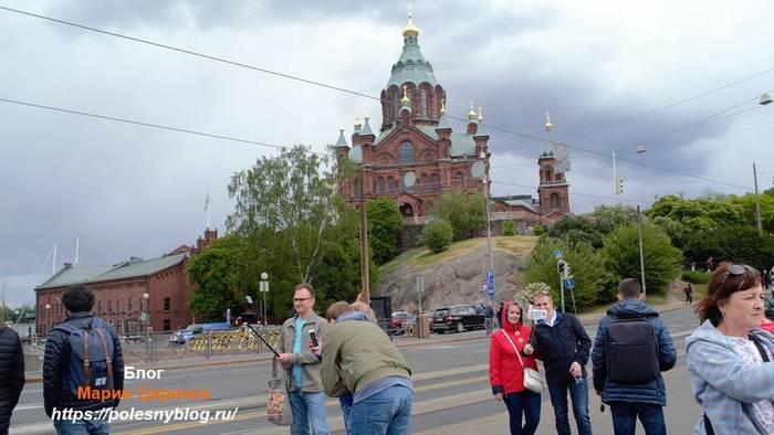 Православный храм. Хельсинки