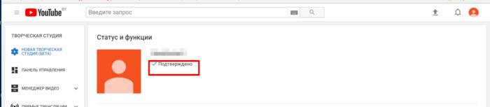 Создание бизнес-канала YouTube и подключение его к AdSense. Шаг 11
