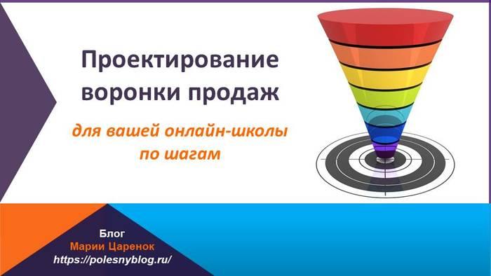 Воронка продаж для онлайн-школы