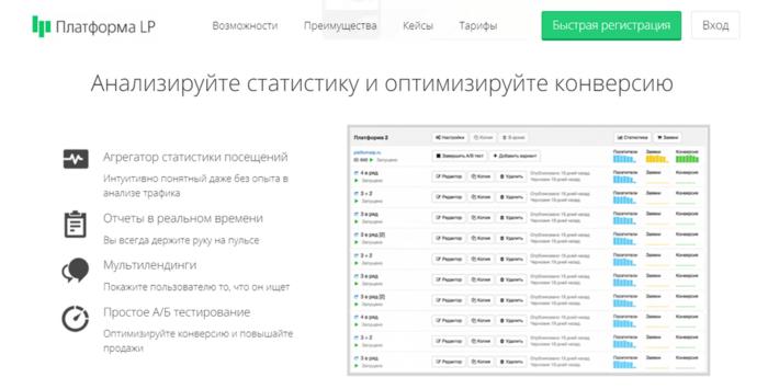 Какой конструктор сайтов лучше. PlatformaLP/ПлатформаЛП