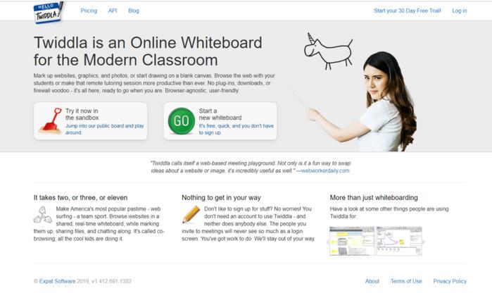 Интерактивная онлайн доска